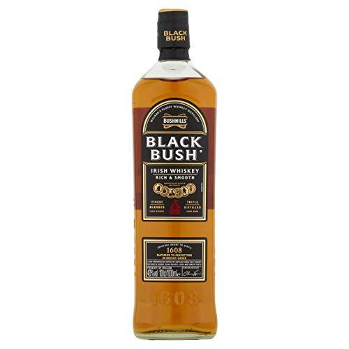 Bushmills Black Bush Irish Whiskey, 1 L £24.68 at Amazon