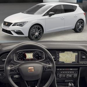 Seat Leon 2.0 TSI 290 Cupra EZ DSG - 24 Month Lease - 8k miles p/a - no upfront + £293pm + no admin = £7,032 @ Leasing.com (Lookers SEAT)