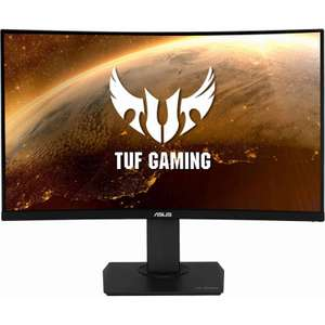 """TUF GAMING VG32VQ 32"""" 2560X1440 VA 144HZ 1MS FREESYNC LED WIDESCREEN CURVED GAMING MONITOR - £411.05 Delivered @ Overclockers"""