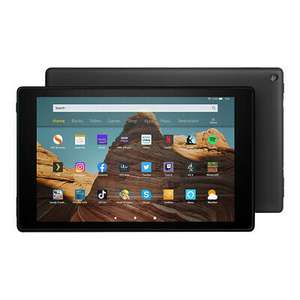 AMAZON Fire HD 10 Tablet (2019) - 32 GB Black, £99.75 with code at AO/ebay