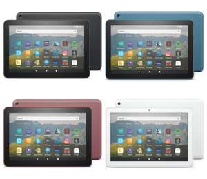 AMAZON Fire HD 8 Tablet (2020) 32GB (Black/Blue/Plum/White) + 6 months Spotify Premium for £64.99 delivered @ Currys PC World