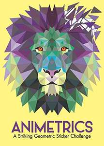 Animetrics: A Striking Geometric Sticker Challenge (Sticker by Number Geometric Puzzles) Paperback £2.99 (+£2.99 NP) @ Amazon