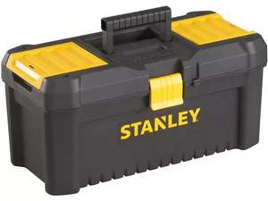 """Stanley 12.5"""" Essential Toolbox for £4.99 or FX Tools 25cm Toolbox £1.99 (free click and collect) @ Robert Dyas"""