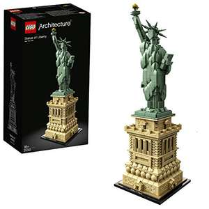 LEGO 21042 Architecture Statue of Liberty Model Building Set, Construction Collectible Gift, New York Souvenir, 1685 Pieces £69.01 @ Amazon