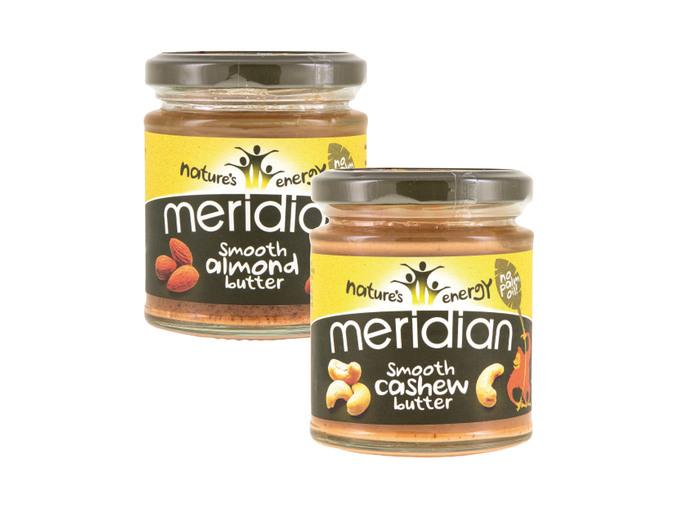 Meridian Cashew/Almond Butter 170g instore @ Lidl