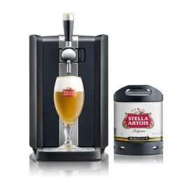 Perfect draft bundle deal - Machine, a keg of Stella and 2 glasses £246.98 @ Beerhawk
