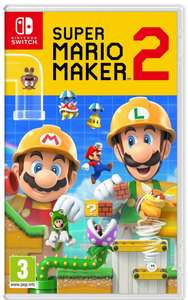 Super Mario Maker 2 (Nintendo Switch Game) £34.99 With Code @ Currys