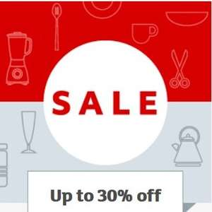 Up to 30% off selected Homeware and Electrical. Items from 99p @ Sainsbury's. Online and Instore.