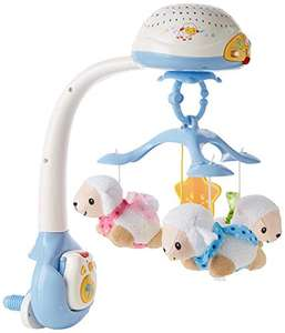 VTech Lullaby Lambs Mobile, Baby Night Light Projector, Baby Born Cot Toys - Blue £19.99 Prime +£4.49 Non-Prime @ Amazon