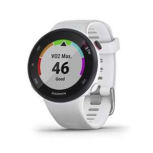 Garmin Forerunner 45S GPS Running Watch in White with Garmin Coach Training Plan Support £117.99 - Sold and Dispatched by Amazon