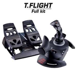 Thrustmaster T.Flight Hotas X and Rudder Pedals £109.99 @ box