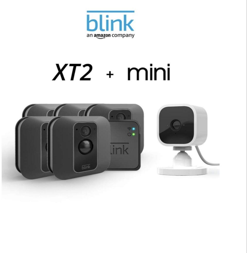 Blink XT2 5-Camera System + Blink Mini camera £299.99 Amazon