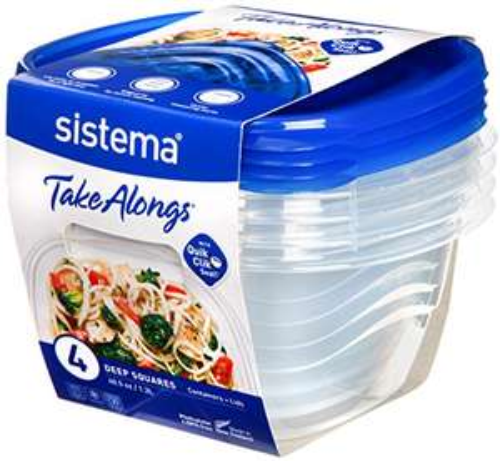 Sistema Takealongs 1.2 litres multipack, £2.50 Prime (+£4.49 non-prime) @ Amazon