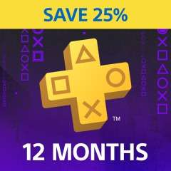 PlayStation Plus PS+ 12 Month Membership £13.76 @ PlayStation Network Turkey