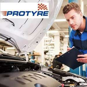 MOT with a Wheel Alignment Check at Protyre (36 Locations, Nationwide) - £22.50 / £18 with 20% off code for new users @ Groupon