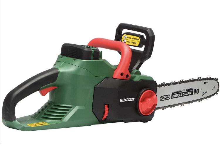 Qualcast 36V 35cm Cordless Chainsaw £100 C&C only @ Homebase