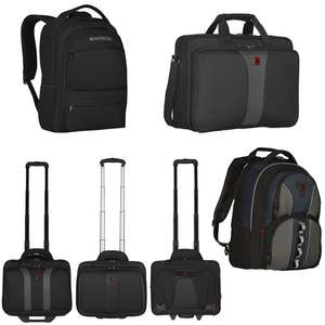 "20% Off Wenger Laptop Backpacks, Cases & Wheeled Cases With Code - EG: Fuse 15.6"" Backpack £26.94 / Granada 17"" Wheeled Case - £63.99 @ box"