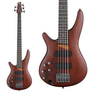Left Handed Ibanez SR505L-BM Bass Guitar / Bartolini MK1 Pickups - Free Next Day Delivery £499 @ GuitarGuitar