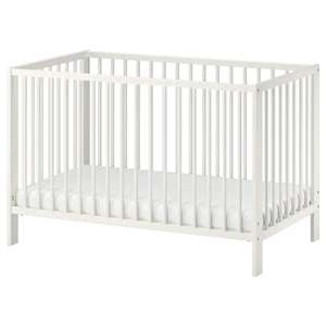 IKEA GULLIVER Baby Cot, White OR Brown 60x120 cm was 65 then £19 NOW Further Reduced to £15 @ IKEA (Glasgow)
