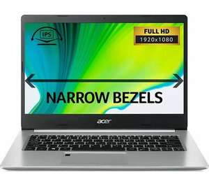 "ACER Aspire 5 A514-52 14"" FHD IPS, I5-10210U, 8GB RAM, 256GB SSD Silver Laptop, £474.05 with code at Currys PC World / ebay"