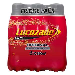 Lucozade Multipacks - 3 for £5 @ FarmFoods, Fort William