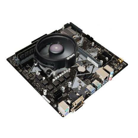 AMD Ryzen 7 2700 Eight Core 4.1GHz, Asus B450M-K Motherboard CPU Bundle £199.99 @ AWDIT