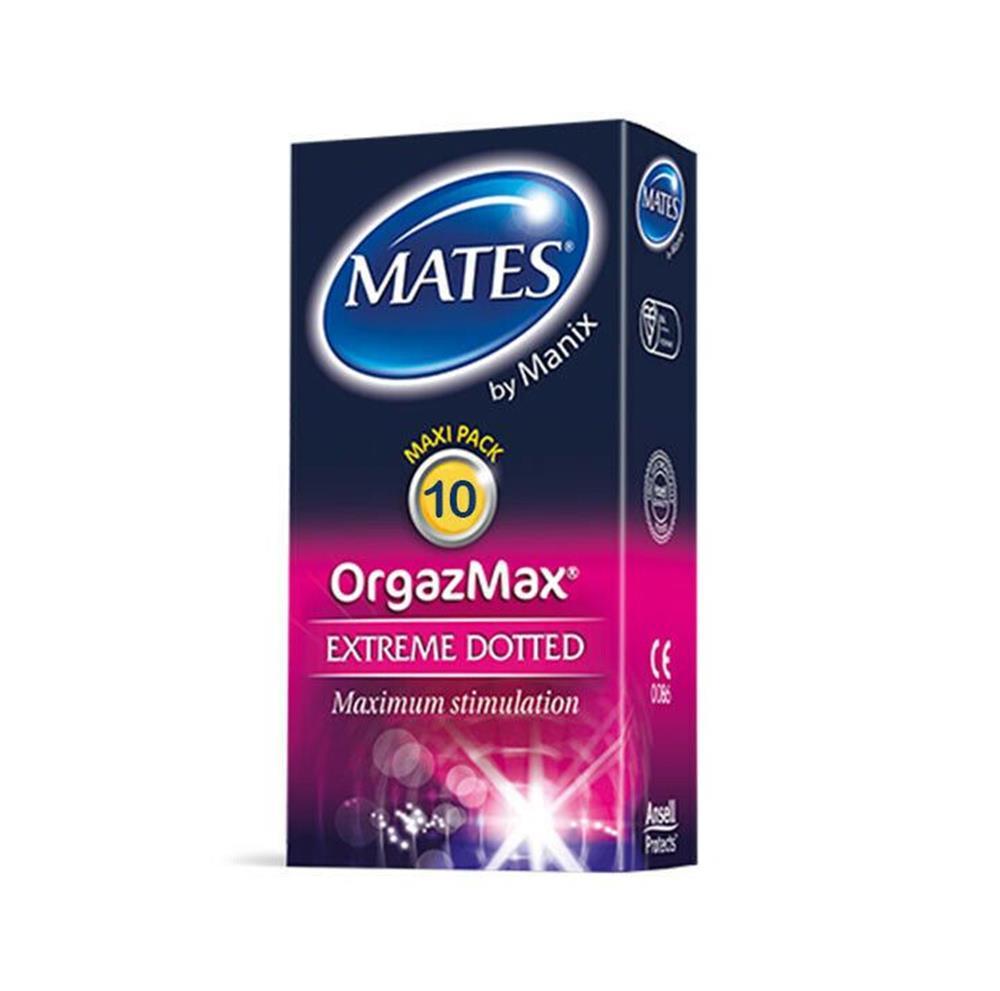 Mates OrgazMax Extreme Dotted 10 Condoms - £1.19 @ Home Bargains (Titchfield)