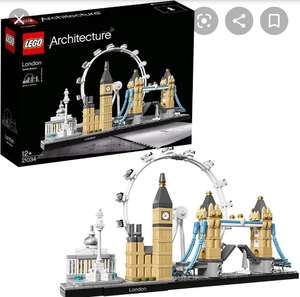 LEGO Architecture London Skyline Model Building Set (21034) £32.24 Sold by Toys for Fun UK and Fulfilled by Amazon