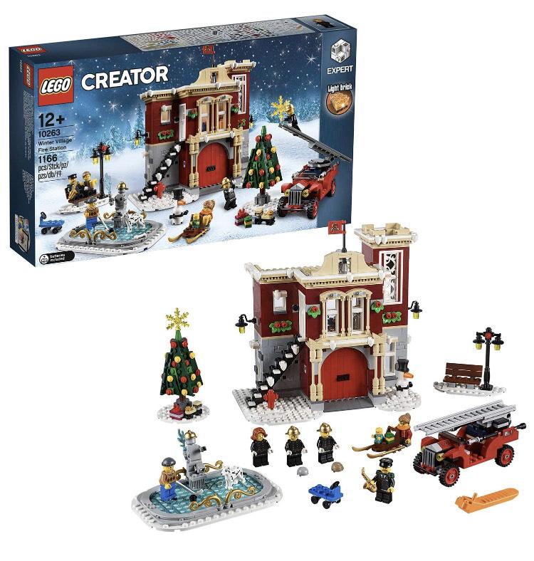 LEGO Creator 10263 Winter Village Fire Station £65.21 @ Amazon Germany