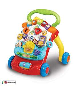 Vtech 505603 Baby Walker, Multi-Coloured (Prime free delivery or £4.49 NP) £19.99 @ Amazon
