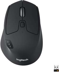 Logitech M720 Triathlon Wireless Mouse, Multi-Device, Bluetooth and 2.4 GHz with USB Unifying Receiver £36.52 @ Amazon