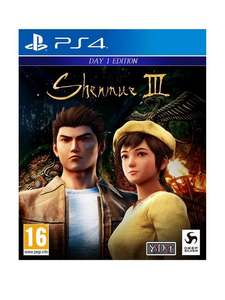 Shenmue 3 PS4 Game £12.99 + £3 Click & Collect / £3.99 delivery @ Very