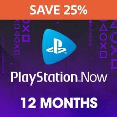25% off 12 Month PlayStation NOW Membership £37.49 @ PlayStation Network UK (OR £32.34 using ShopTo credit method)