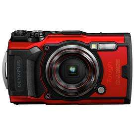 Olympus Tough TG-6 12MP 4x Zoom Digital Compact Camera - Black OR Red - £279.99 with code @ Argos