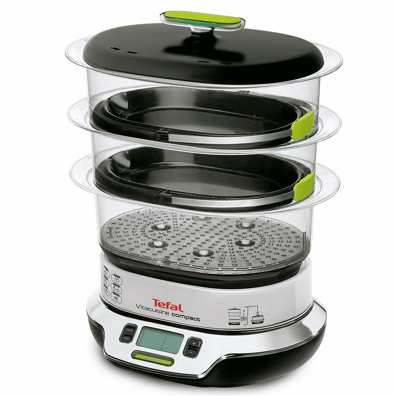 Tefal VS4003 steam cooker 3 basket(s) - Freestanding 1800 W - (Black, Green) - £97.80 delivered @ Alternate