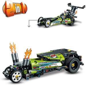 LEGO 42103 Technic Dragster Racing Car Toy for £9.99 (Prime) / £14.48 (Non Prime) delivered @ Amazon