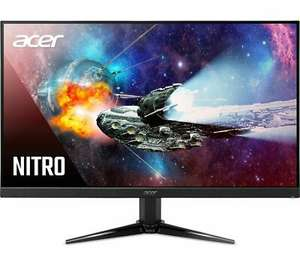 """ACER Nitro 23.8"""" FHD VA LCD Freesync 75Hz 1ms Gaming Monitor, £103.55 at Currys ebay with code"""