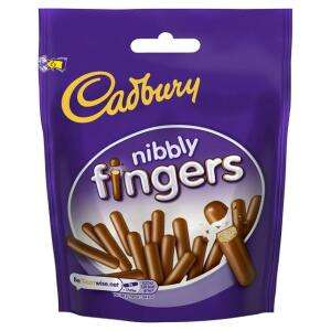 Cadbury Nibbly Fingers 125g 29p @ FarmFoods Castle Bromwich