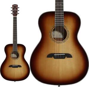 Alvarez Artist Series AF60SHB Folk Shadowburst Acoustic Guitar - Solid A+ Sitka Spruce Top - £249 With Free Next Day Delivery