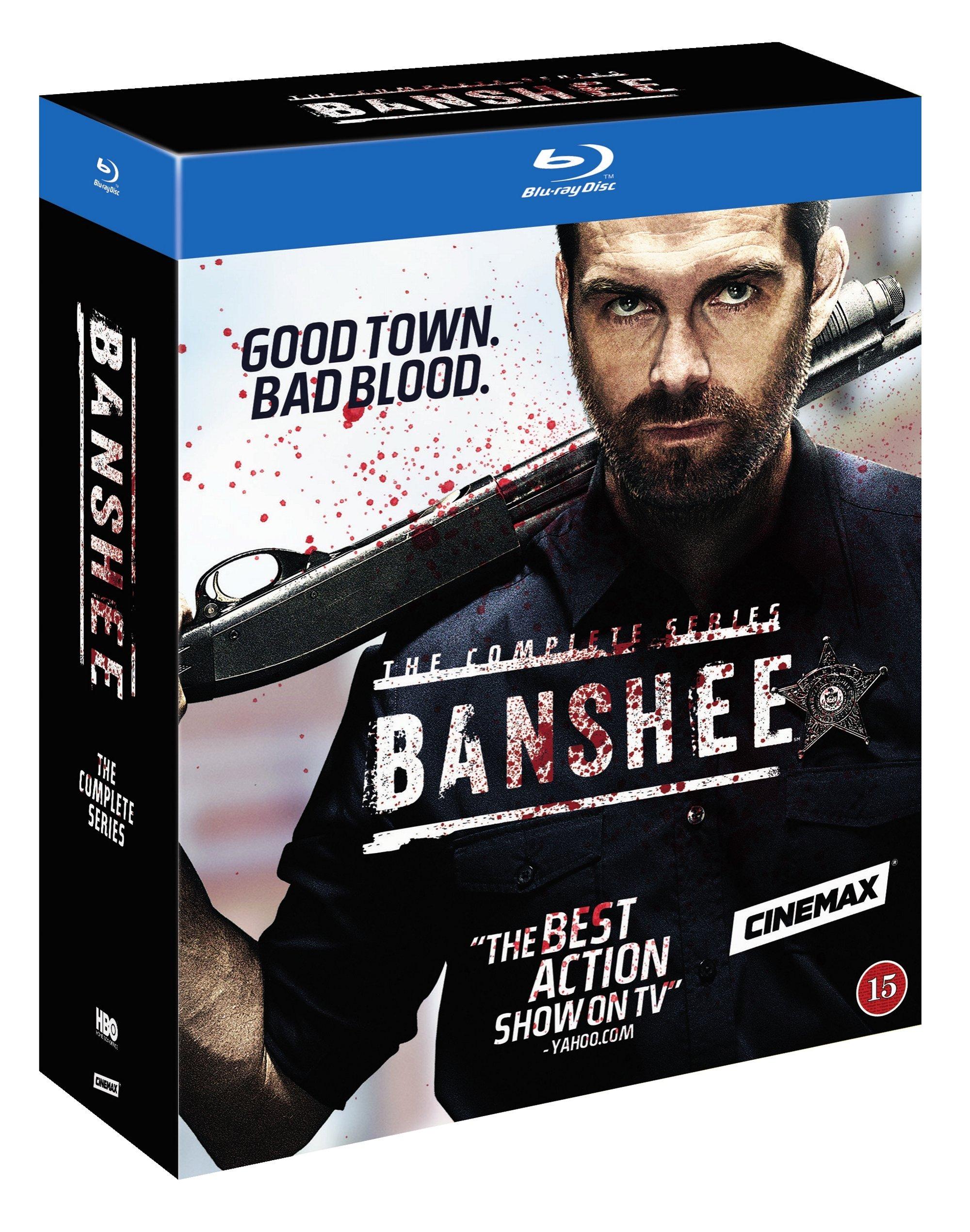 Banshee - Complete Series (Blu-Ray), £29.99 delivered at Coolshop