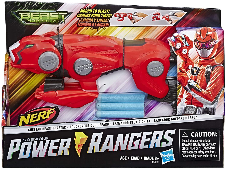NERF - Power Rangers Beast Morphers Cheetah Beast Blaster from Power Rangers TV Programme - £8.50 (+£4.49 Non Prime) at Amazon