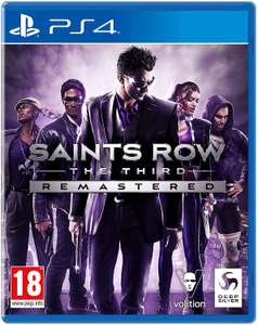 Saints Row: The Third - Remastered (PS4 / Xbox One) + 6 months Spotify Premium - £19.99 delivered @ Currys PC World
