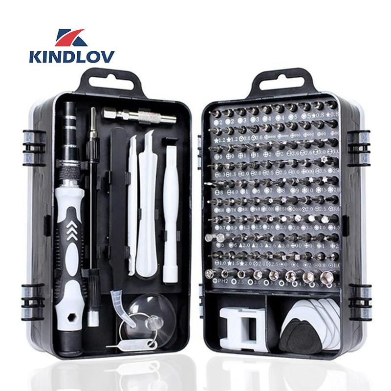 KINDLOV 112 in 1 Screwdriver Set £8.38 Delivered @ AliExpress Deals / KINDLOV Official Store