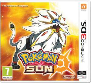Pokemon Sun and Moon Nintendo 3DS - £8 and more In-store @ Asda, Warrington