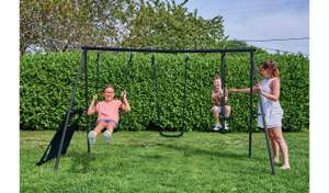 Chad Valley Kids Garden Glider and Swing Set Now £52.80 with Free Click and Collect from Argos