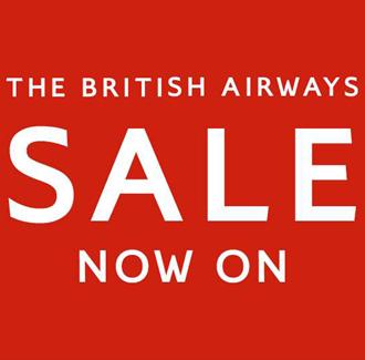 British Airways Sale on Flights and Holidays