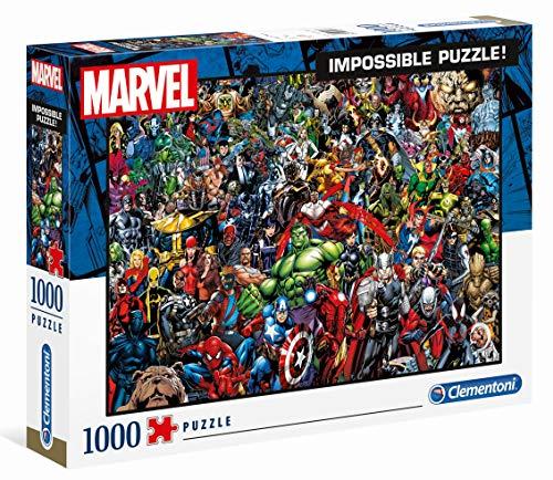 Clementoni - Impossible Puzzle - Marvel - 1000 Pieces - £7.50 (+£4.49 Non Prime) @ Amazon
