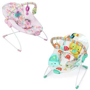 Chad Valley Deluxe Baby Bouncers - Princess or Jungle Designs - £19.99 - Free Click & Collect @ Argos