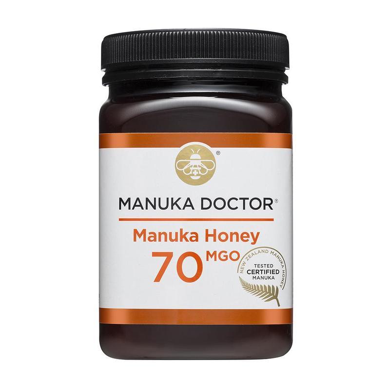Mānuka honey 70 MGO 500g £23 @ Manuka Doctor (£5 Delivery)