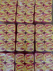 Starburst Strawberry Gum 30 piece tubs are only 49p @ Farmfoods (Bury)